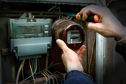Electricity meter installation